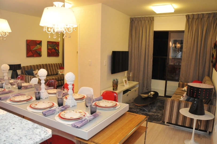 Apartamento decorado do Condomínio Paris