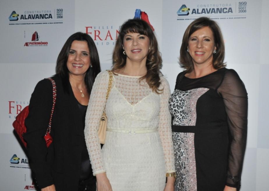 Cristina Stecca, Cláudia Stecca e Maria Fernanda Stecca Stefan