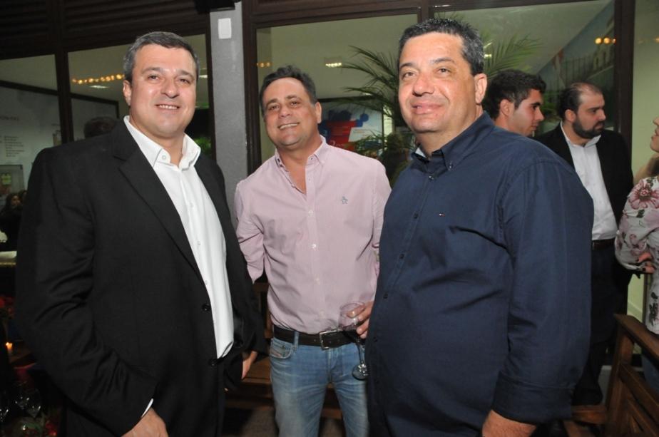 Fernando Stecca Neto, Marcos Atala e Alexandre Oliveira