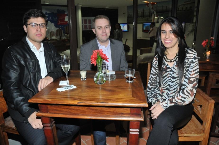 Maicon Tambelli, Marcos Nunes e Melissa Tambelli