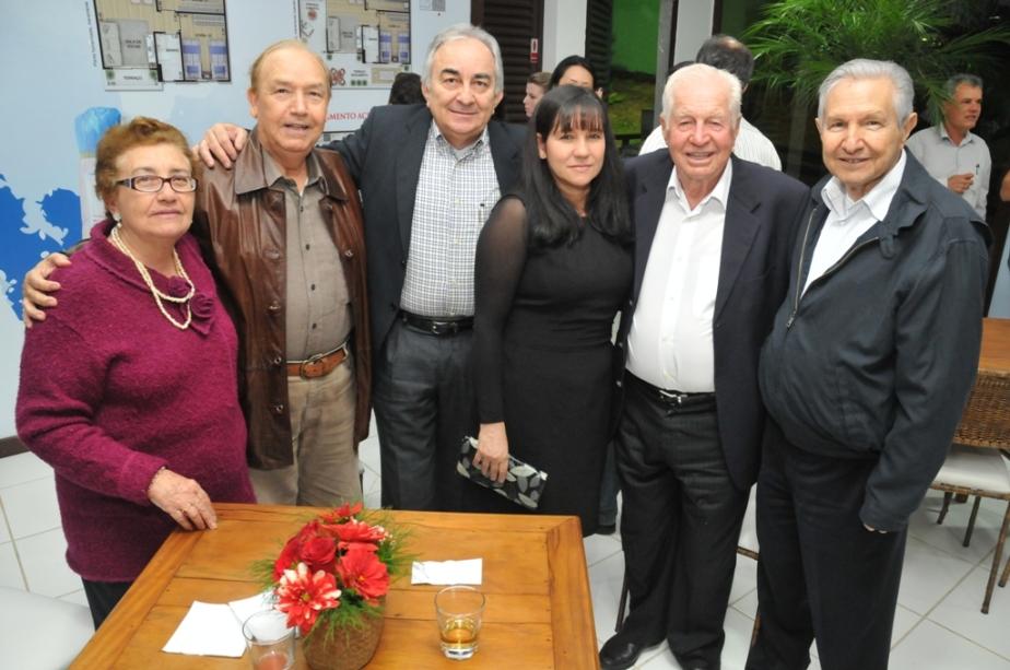 Margarida Telo, Izidro Telo, Hugo Flávio Bento da Silva, Ester Ribeiro, Fernando Stecca Filho e Laelso Rodrigues