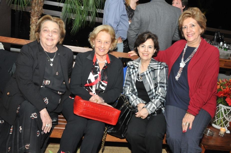 Neid Stecca, Meire Pavlovsky, Evani Gomes e Enide Soares