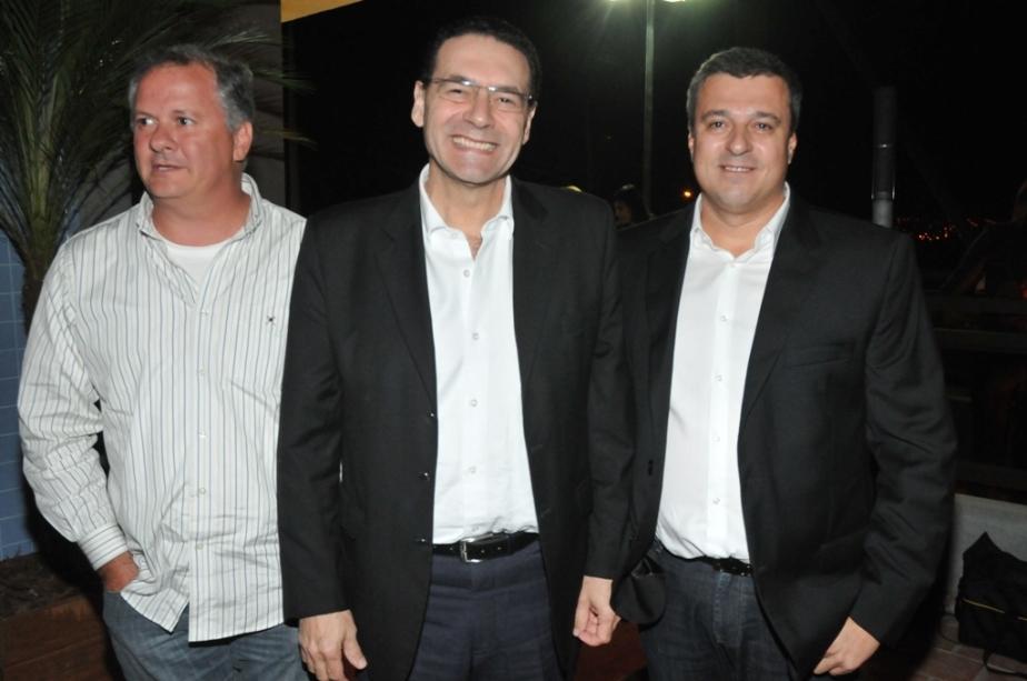 Rubens Cury Basso, Vitor Lippi e Fernando Stecca Neto